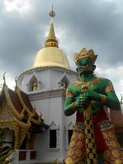 Gardien du Temple (Paradiperdu) Tags: thaïlande temple