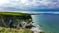 Breathtaking Coast (s.gervaso) Tags: nopeople ireland relaxing green trekking walk blue rock cliff sea beach cloudsky horizon nature outdoors beautyinnature sand landscape dayscenics
