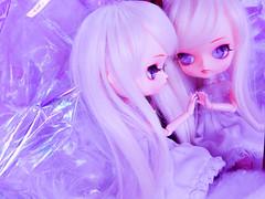 Do you like what you see? (Pliash) Tags: dal doll cute kawaii pullip groove family junplanning jun planning girl pink violet pastel colors frara furara asian fashion dolls plastic magic magical