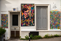 Jack Servoz (dprezat) Tags: servoz paris streetart street graf tag pochoir stencil peinture aerosol bombe painting urban nikon nikond800 d800