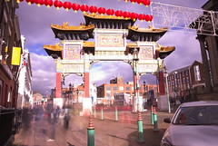 Dragons' gate impressionism (rvilloutreix) Tags: china town liverpool long exposure impressionism