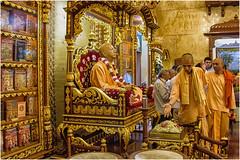 Mumbai , the temple of Iskcon Krishna  ... (miriam ulivi - OFF /ON) Tags: miriamulivi nikond7200 indiadelsud mumbai bombay tempioiskcon harekrishna ritomattutino morningritual krishnafaithful