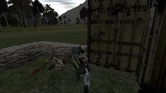 Obrona zakończyła się sukcesem, choć ponieśliśmy ciężkie straty. (PolskaJednostkaOperacyjna) Tags: arma2operationarrowhead arma2oa pjo milsim roleplay military game scifi starwars asami ssvdetroit rozbitkowie startrek