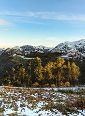 Alfilorios // Sierra del Aramo - Panoramica (F. Julián Martín Jimeno) Tags: embalsedealfilorios pantanodealfilorios lagodealfilorios embalse pantano lago alfilorios atardecer nieve temporal2018 invierno paisajenevado nevado aramo sierradelaramo morcin asturias españa nikon d70002018 snow landscape pano panoramic panoramique panoramica panorama
