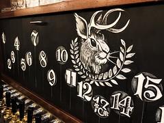 Numbered Draft Board (Night Owl Signs) Tags: chalkart chalk chalkboard chalkmarkers zigposterman roc 585 art biergarten