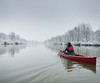 winter (matwolf) Tags: winter kayaking sports colorful colors water river watersports
