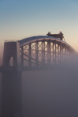 Foggy Morning on The Tamar (Rich Walker75) Tags: tamar bridge bridges architecture fog foggy morning sunrise devon cornwall mist dawn sky landscape landscapephotography landscapes landmark landmarks canon eos100d efs1585mmisusm eos england greatbritain