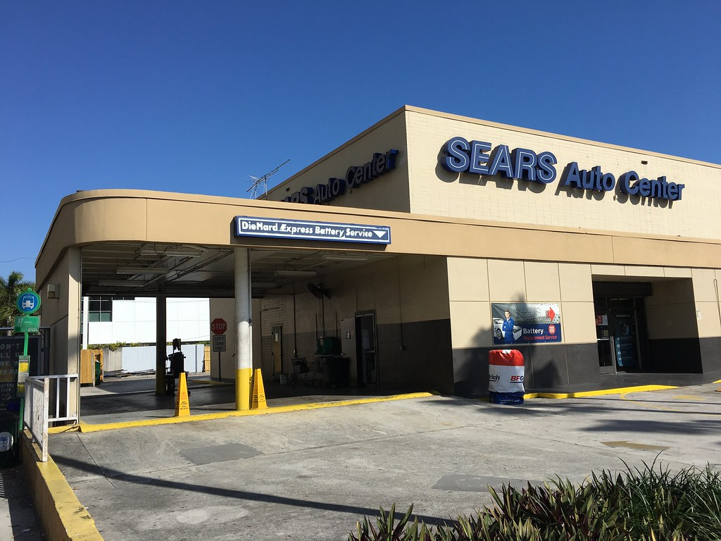 The Sears Auto Center is located on the northeast corner of Douglas Rd (a.k.a. NW 37th Ave) and Coral Way (SW 22 St) next to the Sears store. Terms & Conditions Other Nearby LocationsLocation: Southwest 22 Street (at Douglas Rd), Miami, , FL.
