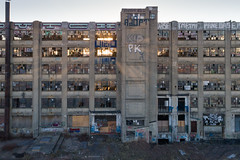 The Building (sephrocker) Tags: drone p4 jerseycity graffiti pk kid graf njgraffiti jc jcnj abandoned urban forgotten industrial