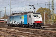 BLS 186 105 Basel Bad (daveymills31294) Tags: bls 186 105 basel bad baureihe traxx railpool