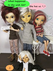 Focus on Dolls You Have <3 (*NatTheCat*) Tags: pullip bianca taeyang lead namu happybirthday happybirthday1 fairyland minifee mnf tika tan mod bjd