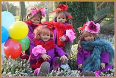Kindergartenkinderkarneval ... (Kindergartenkinder) Tags: kindergartenkinder annette himstedt dolls sanrike tivi gruga grugapark essen karneval fasching annemoni milina