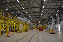 Alstom Rail Techonology Centre, Widnes (Will Swain) Tags: alstom rail techonology centre widnes train trains railway railways transport travel uk britain vehicle vehicles england english merseyside north west mersey virgin paint programme painting facility