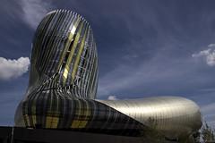 La Cité du Vin - a bold architecture! (Cecilia A) Tags: aquitaine bordeaux citéduvin france ©ceciliaa canon canont3i canon600d architecture