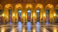 _MG_2888 - The Golden Room of Stockholm City Hall (AlexDROP) Tags: 2017 stockholm sweden cityhall art travel architecture color city wideangle urban scape canon6d ef16354lis best iconic famous mustsee picturesque postcard europe interior banner