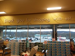 You're welcome (Spectrum2700) Tags: mansfield markets weis nj