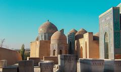 Mausolée Shah-E-Zindeh, Samarcande (Histoires de tongs) Tags: uzbekistan ouzbékistan tourdumonde travel trip roundtheworld adventure aventure voyage architecture découverte discover visite visit