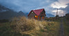 Over the Hills (Ali Sabbagh) Tags: house cottage hut hill travel world photography canon eos7d light sunset nature