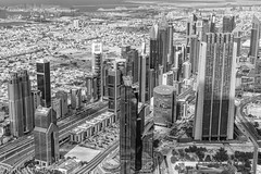 Business Bay - Dubai (benedikt83) Tags: hochhäuser hochhaus skyscraper view burjkhalifa dubai buildings architecture gebäude aussichtsplattform observation level128