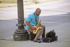 Blowing on His Sax (craigsanders429) Tags: chicago street streetscenes urbanscenes urban city cityscenes musician saxophone