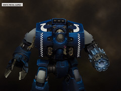 Ultramarines Leviathan Dreadnought (whitemetalgames.com) Tags: first company primaris ultramarines ultra marines space adeptus astartes scouts reivers inceptors bikers leviathan dread house griffin knight battle brothers sargeant veteran vet srgnt lt commander warhammer40k warhammer 40k warhammer40000 40000 paintingwarhammer gamesworkshop games workshop citadel whitemetalgames wmg white metal painting painted paint commission commissions service services svc raleigh knightdale dale northcarolina north carolina nc hobby hobbyist hobbies mini miniature minis miniatures tabletop rpg roleplayinggame rng warmongers