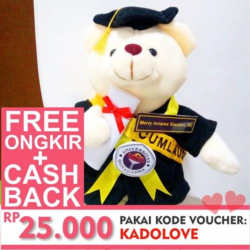 promo paket hemat kado boneka teddy bear wisuda harga murah jogjaku 0858  7874 9975 0a7893095f