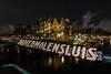 Papiemolensluis (Enrique EKOGA) Tags: amsterdam netherlands dutch papiermolensluis architecture building house oldcity water night lights longexposure nikon d800e travel boat canal clouds city tokina