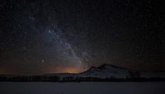 A Cold Winter Night (Kim Tashjian) Tags: night stars sky mountains winter montana