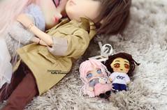 Happy Valentines day (·Yuffie Kisaragi·) Tags: doll dolls pullip xiao fan custom rakerusensei pingrey taeyang prince ramiro kenjiro obitsu rewigged rechipped