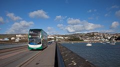 Green On The Teign (Richie B.) Tags: wa62aoh adl alexander dennis enviro 400 stagecoach south west teignmouth devon