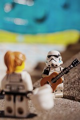 """""""I dreamt about you nearly every night this week"""" (Andre Filipe Gaspar) Tags: bennythetrooper darkside pt wars star starwars romance guitar music love minifig stormtrooper lego"""