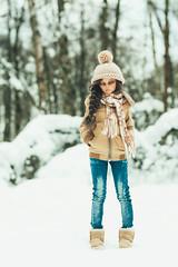 Girl VS. snow (1) (toriasoll) Tags: bjd abjd doll dolls dollphotography dollphoto snow winter fairyland feeple feeple60 feeple60mirwen mirwen60 tan