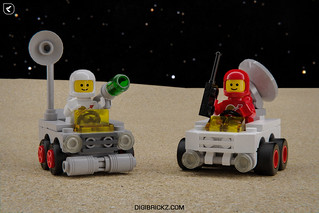 Mighty Micros: Classic-Space Rovers