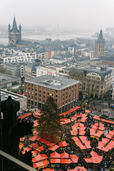 The cathedral's christmas market and some nice views. (tiagoalexandresilva) Tags: cologne koeln köln germany europe northrhinewestphalia nrw nordrheinwestfalen sonya6000 autumn fall