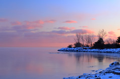 Tranquil Bay at dusk (Daniel Q Huang) Tags: dusk twilight lake bay suset waterscape