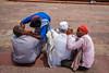 Ears (SaumalyaGhosh.com) Tags: people ears cleaning ear color street streetphotography india delhi fuji xt2 woman sleep distance covered