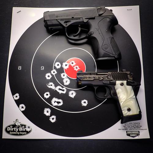 Target Shooting - Sig Sauer P238 & Beretta PX4 Storm Compact