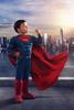 Supermax (John Car.) Tags: superman cosplay max car composite muscle costume cape dc city skyline metropolis water sun flare birds kids superhero children