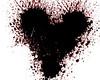 Exploding heart mask (Sunset Sailor) Tags: free mask heart exploding red black