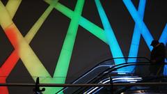 - Colourful - (Jacqueline ter Haar) Tags: utrecht colourful building poortgebouw winkelcentrum mall shopping hoogcatharijne kleuren led explore