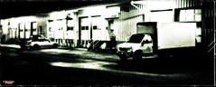Night Delivery (MBates Foto) Tags: ambientlight availablelight blackandwhite dark evening existinglight industrial monochrome night nikkorlense nikon nikond810 nior outdoors urban spokane washington unitedstates stealingshadows