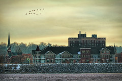 Across the River! (jackalope22) Tags: architecture river davenport rockisland mississippi geses