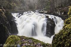 The Hermitage at Dunkeld (rjonsen) Tags: scotland river water waterfall fall long exposure tripod alba motion blur