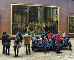 """""""Sacre de Napoléon Ier"""" David J.L., Musée de Louvre, Paris, France (Gaston Batistini) Tags: muséedelouvre paris france batistini gaston gbatistini david jl"""