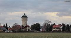 """""""Lindenthaler Wasserturm"""" fotografiert von der Louise-Otto-Peters-Allee (joergpeterjunk) Tags: leipzig gohlisnord outdoor louiseottopetersallee wasserturm lindenthalerwasserturm canoneos50d canonefs1785mmf456isusm"""