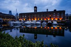 St. Katherine Docks (Jim Nix / Nomadic Pursuits) Tags: england europe jimnix lightroom london luminar2018 macphun nomadicpursuits skylum sony sonya7ii stkatherinedocks uk unitedkingdom bluehour marina reflections travel