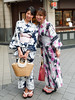 The enchanting women smile ...Tokyo (geolis06) Tags: geolis06 asia asie japan japon 日本 2017 tokyo street rue portrait woman smile sourire traditional kimono traditionnel lovely charmante olympus