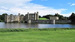 Leeds Castle (mclean25) Tags: leeds castle fortress building architecture gardens lake reflections grass arches maidenhead history historic heritage