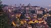 Bergamo crepuscolare (_Nick Photography_) Tags: img5617 bergamoalta upperbergamo crepuscolo lightsinthedusk tripod longexposure 100iso5secf7 dpp nightfall middleage ancientmedievalcity onthehilltop cityscape