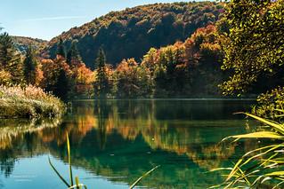 Fall Colour at Plitvice Lakes National Park, Republic of Croatia